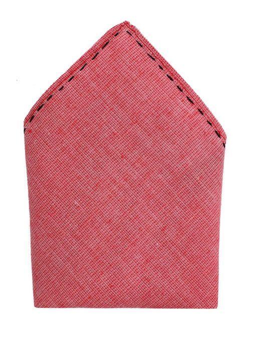 Varones Rose Pink Pocket Square 10-08013B/115