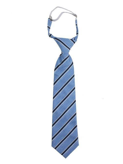 Varones Blue Stripe Tie 10-08011A/07