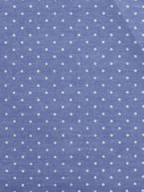 Varones Blue Dotted Pocket Square