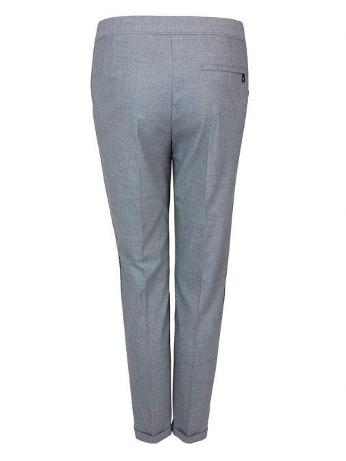 Bianca Grey Siena Slim Fit Trousers