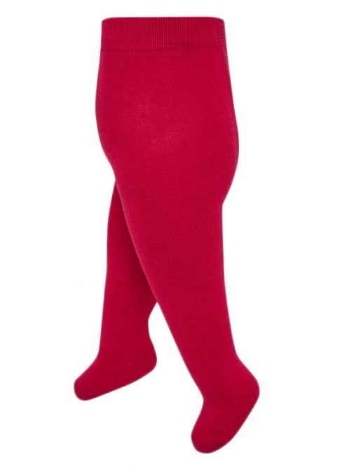 Mayoral Scarlet Thick Woven Tights