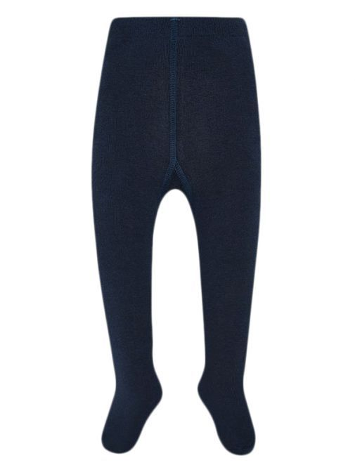 Mayoral Navy Blue Thick Woven Tights 10669 40