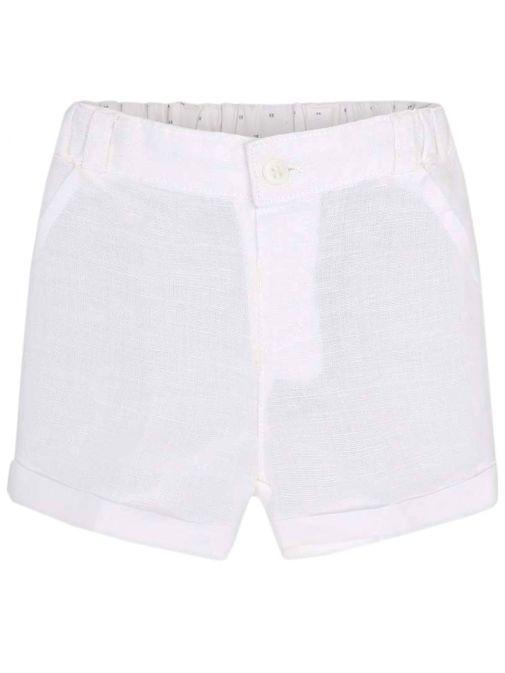 Mayoral White Formal Shorts 1205 69