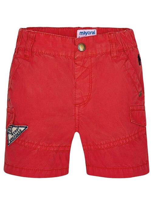 Mayoral Red Cargo Shorts 1294 83