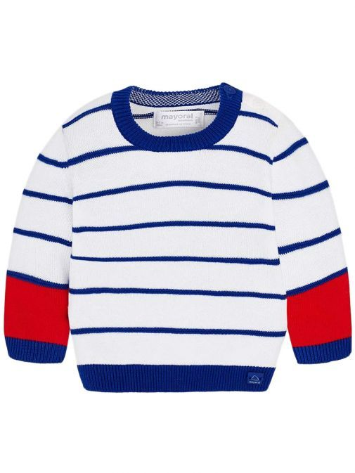 Mayoral Royal Striped Knitted Jumper 1305 35