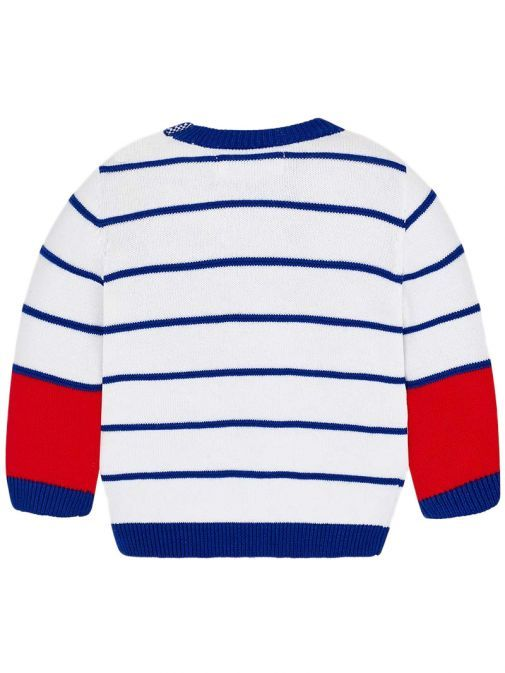 Mayoral Royal Striped Knitted Jumper