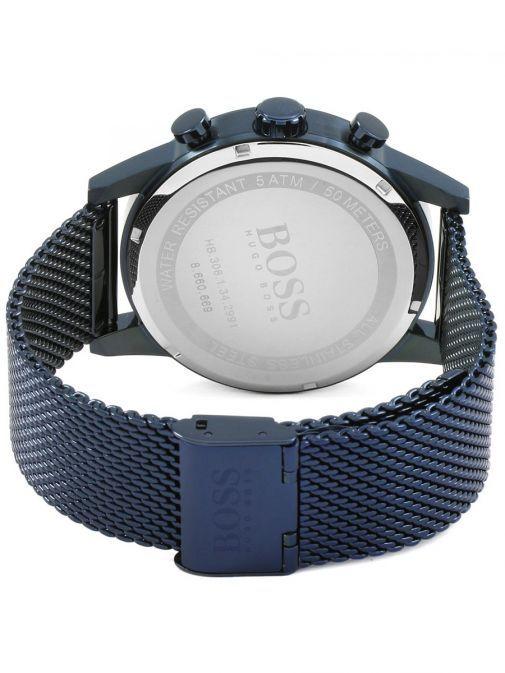 Hugo Boss Navy Blue Navigator GQ Edition Chronograph Watch