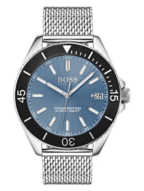 Hugo Boss Silver Ocean Watch 1513561 SILVER