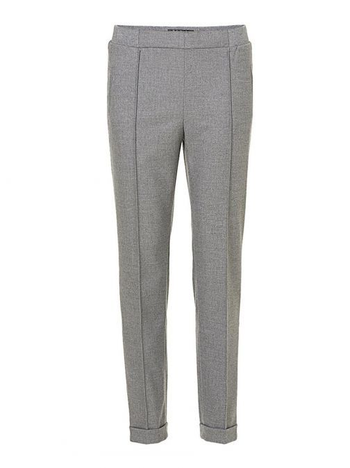 Betty Barclay Grey Slim Fit Trousers