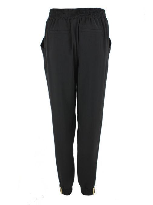 Frank Lyman Black Drawstring Trousers