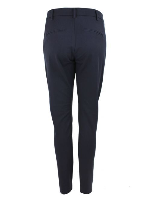 I Say Navy Regular Fit Stretch Trousers 17929 640