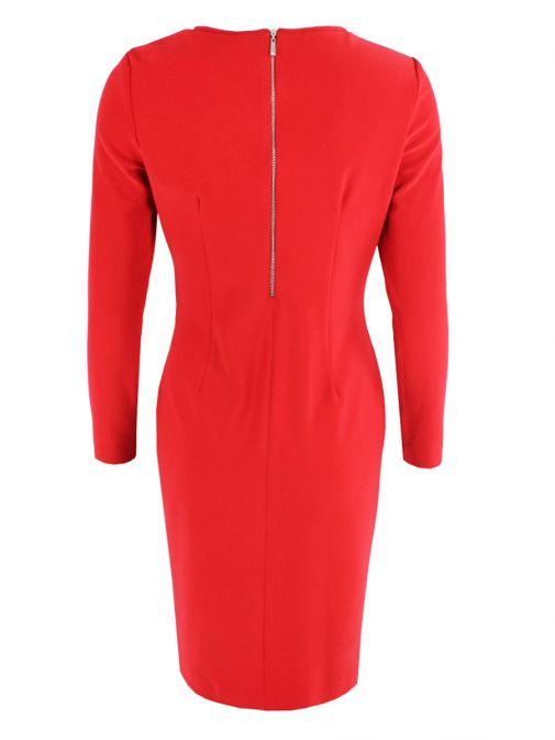 Frank Lyman Red Stud Detail Dress