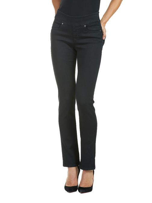 Frank Lyman Black Straight Jeans 185131U/BLACK