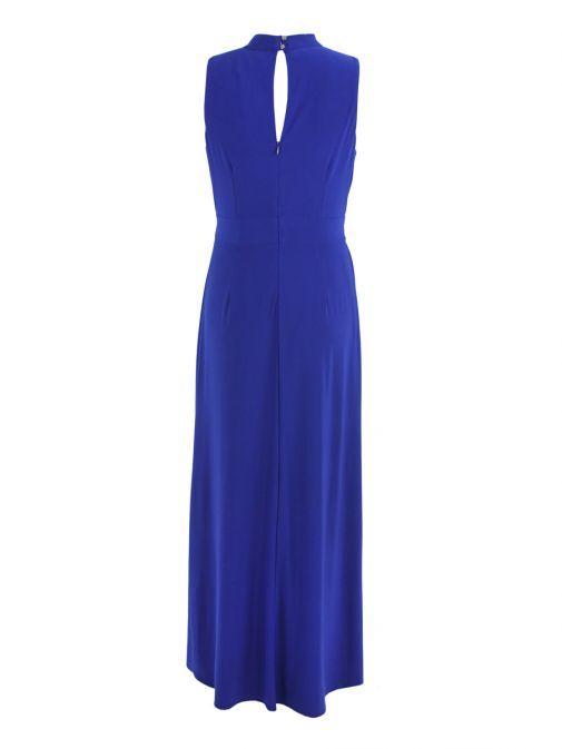 Frank Lyman Sapphire High-Low Maxi Dress