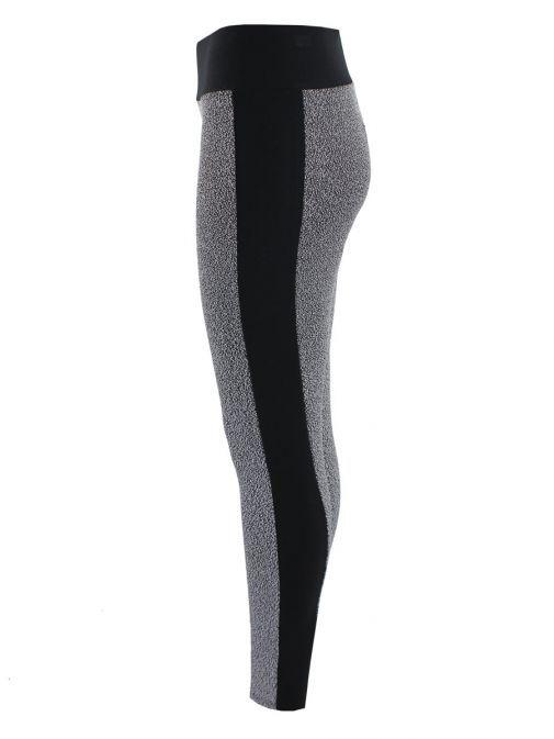 Frank Lyman Black & White Speckle Printed Leggings