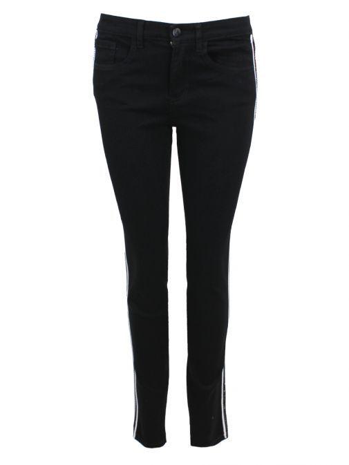 Frank Lyman Black Diamond Detail Skinny Jeans 191118U BLACK