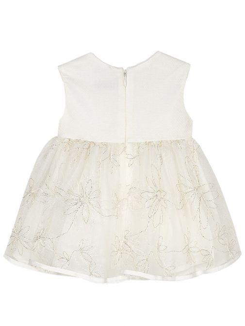 Mayoral Cream Tulle Dress