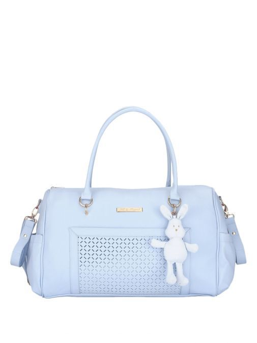 Mayoral Baby Blue Changing Bag With Bunny Charm 19411 70