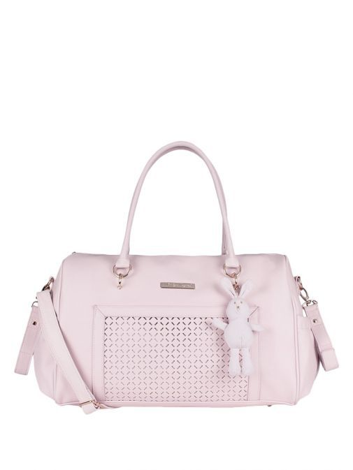 Mayoral Baby Pink Changing Bag With Bunny Charm 19411 72