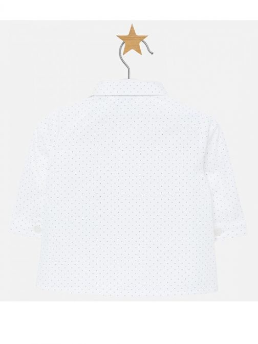 Mayoral White Dotted Shirt