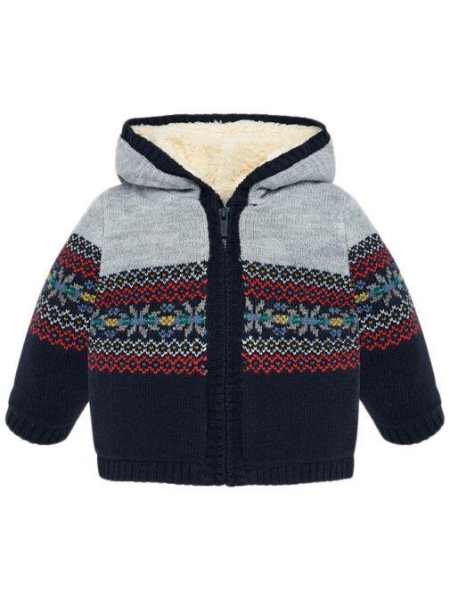 Mayoral Universe Hooded Knit Jacket 2332 20