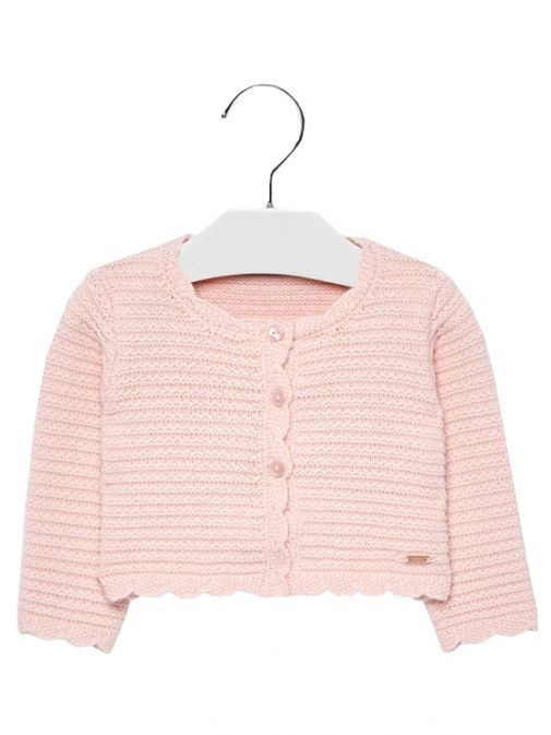Mayoral Pink Knit Cardigan 2338 56