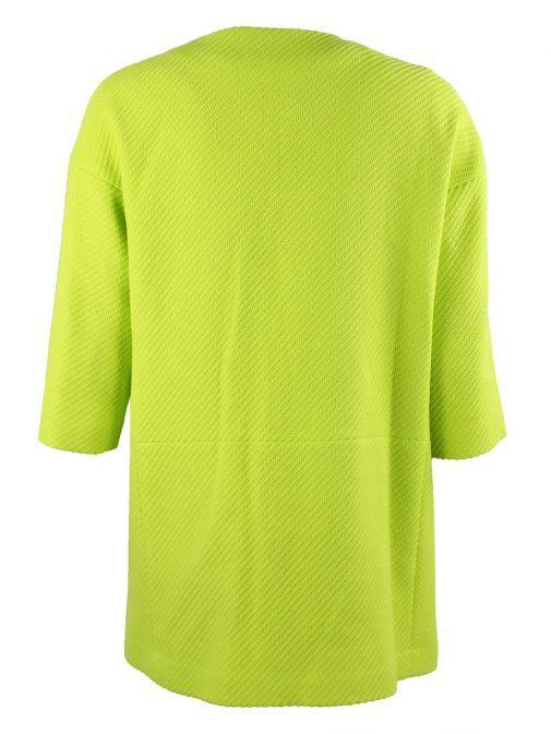 Vilagallo Lime Green 3/4 Sleeve Jacket