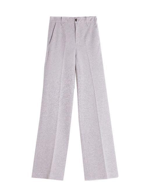 Vilagallo Grey Sparkle Trousers 26787 GREY