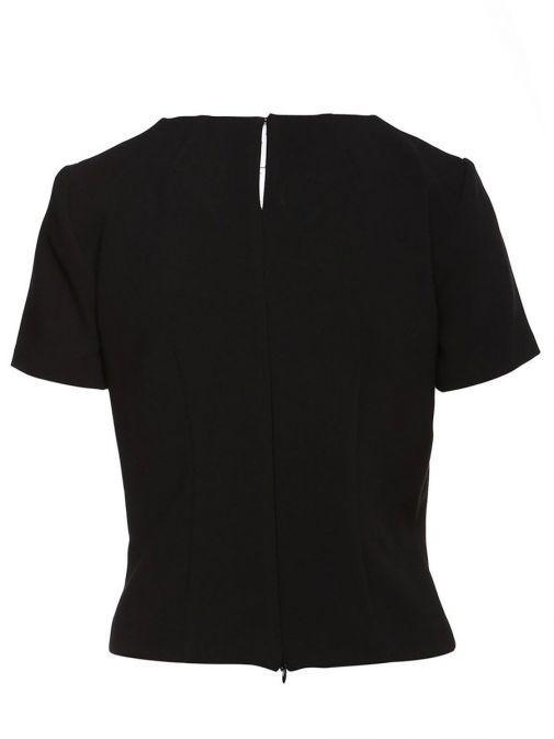 SPELL Black Short Sleeve Top
