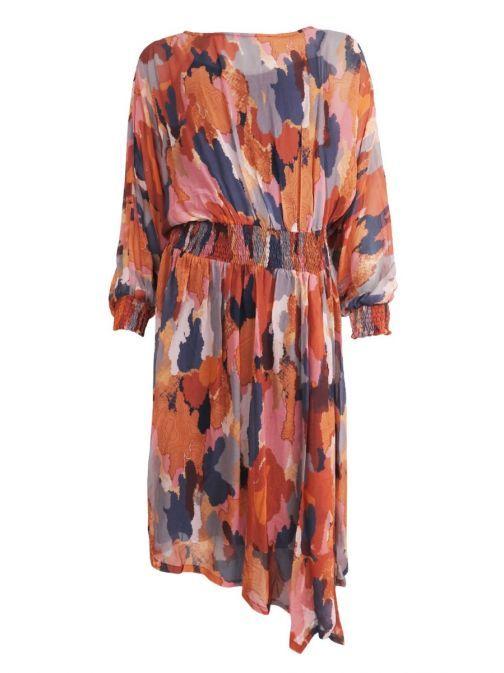 Gomaye Multi Pattern Dress
