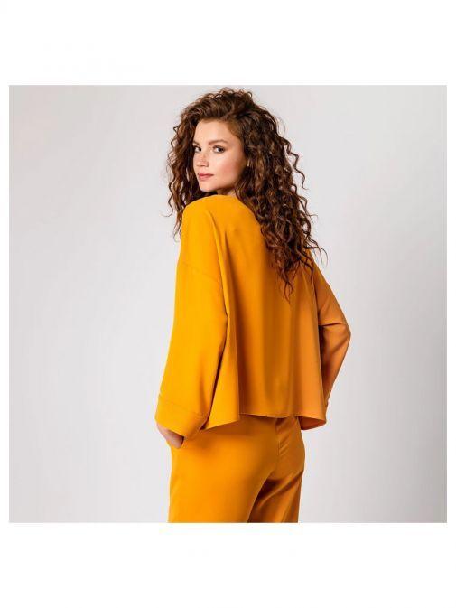 Access Fashion Mustard Oversized Blouse