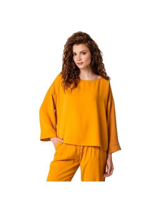 Access Fashion Mustard Oversized Blouse 29-2061-137/MUSTARD