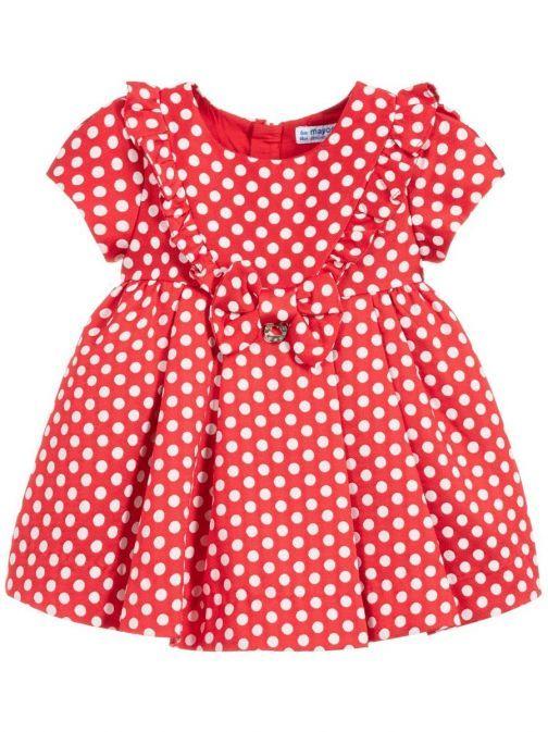 Mayoral Scarlet Polka Dot Dress 2915 17