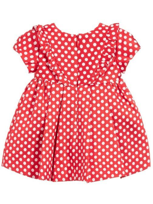Mayoral Scarlet Polka Dot Dress
