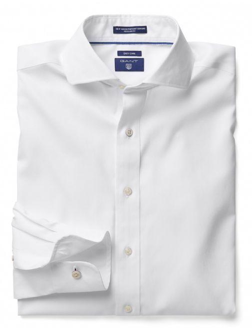 Gant White Pinpoint Oxford Shirt 300406.110