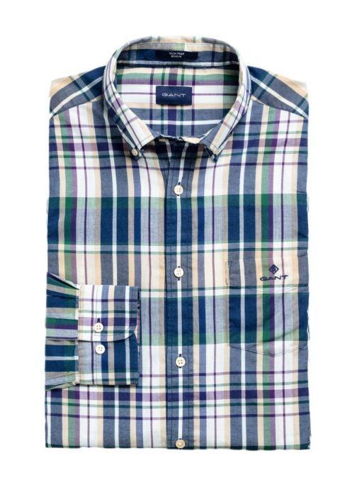 Gant Dry Sand Regular Fit Checked Shirt 3009420 277