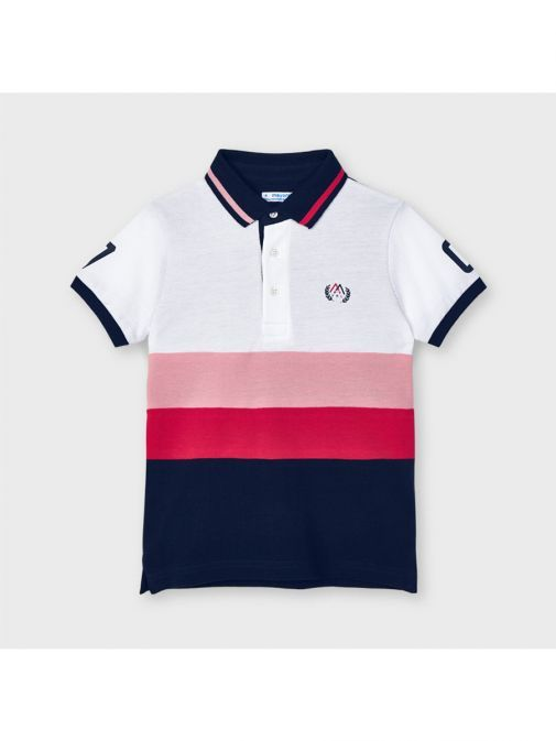Mayoral Cyber Red Combined Polo 3109/86-Red