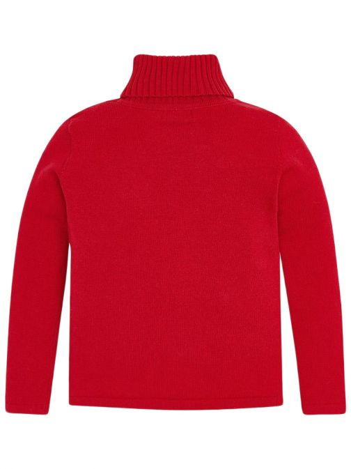 Mayoral Red Roll Neck Knitted Jumper