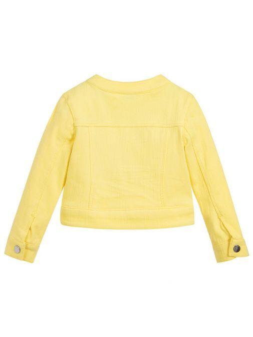 Mayoral Yellow Studded Jacket