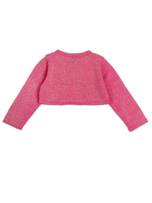 Happy Girls Dark Pink Bolero Cardigan