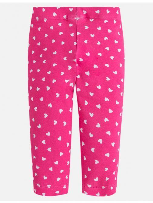 Mayoral Pink Cropped Leggings