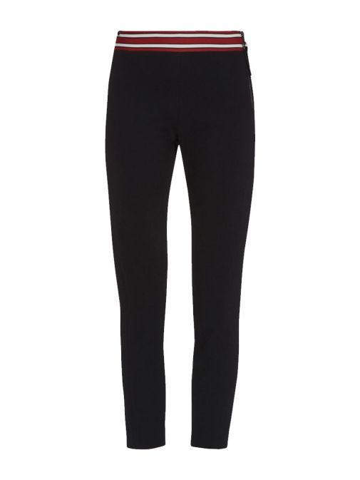 PENNYBLACK Black Jersey Trousers With Lined Waistband 37840217 2