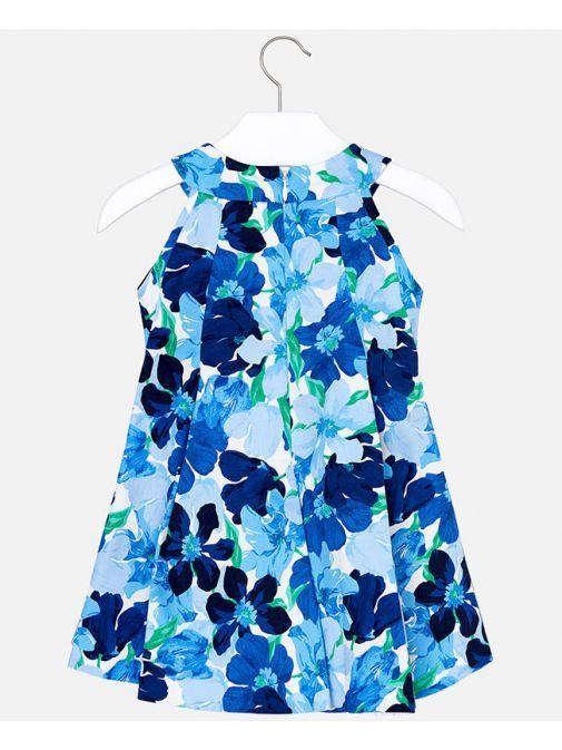 Mayoral Blue Floral Dress