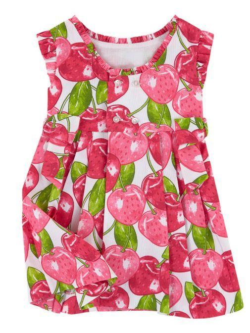 Mayoral Pink Cherry Dress