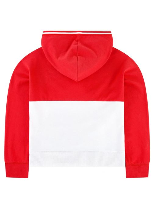 Levis Red Colour Block Hoodie 3Ea863/R7g-Red