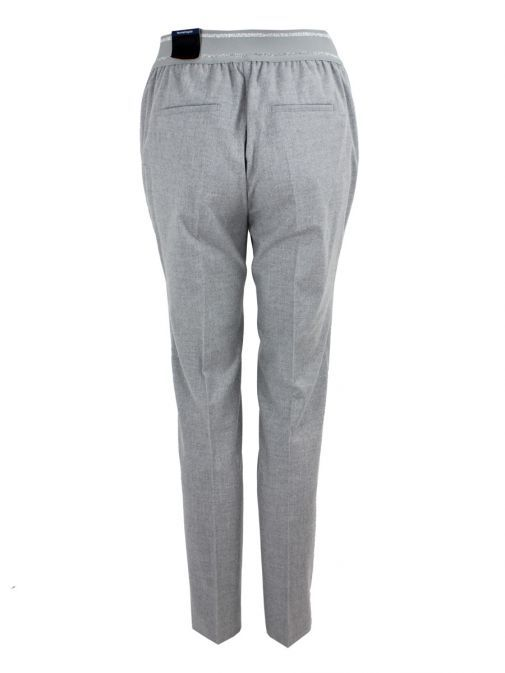 Toni Light Grey Slim Fit Trousers