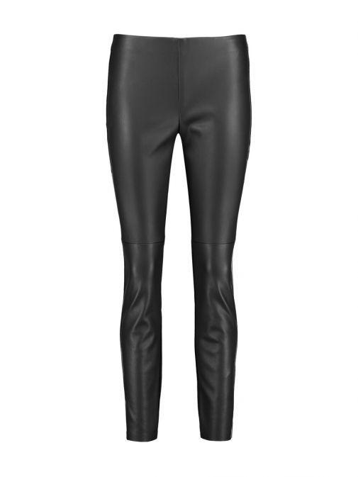 Taifun Black Faux Leather Leggings 420033-11276 1100