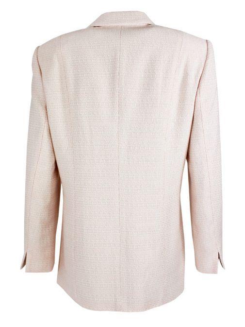 Samoon Blush Long Woven Blazer