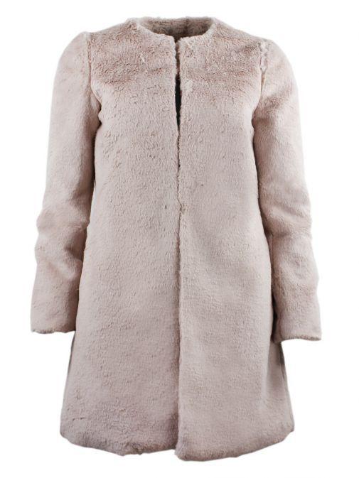 Arggido Rose Faux Fur Coat 43111-rosa-pink