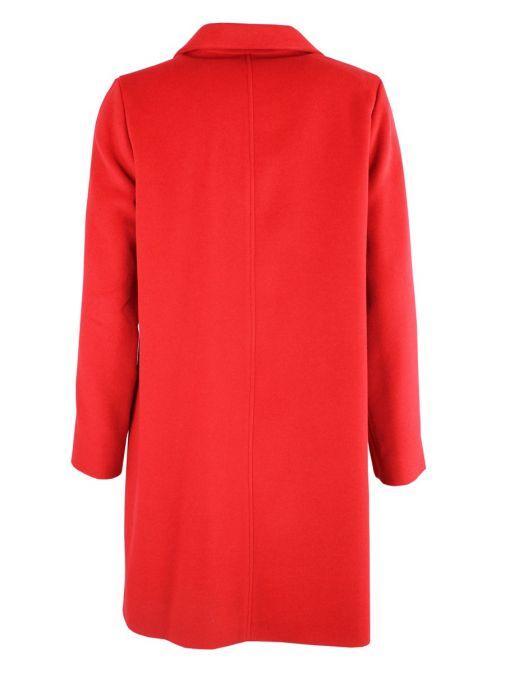 Betty Barclay Red Long Zip Coat